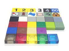 LEGO 3070 1X1 Tile - Select Colour / Pack Size / Condition - FREE P&P!