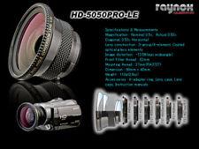 RAYNOX HD-5050LE WIDE ANGLE 37 27 30 34 43mm HD-5050