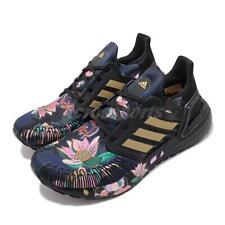 adidas UltraBOOST 20 Black Gold Floral Men Women Running Shoes FW4310