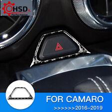 Carbon Fiber Interior Trim Warning light Frame For Chevrolet Camaro 2016 - 2019
