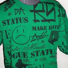 MEN'S GUYS ROGUE STATUS CLUSTER GREEN TEE T Shirt NEW