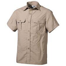 FOX OUTDOOR Camicia uomo militare in microfibra maniche corte 02303F
