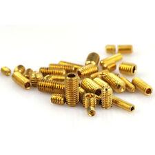Brass Grub Screw M3 M4 M5 M6 Cup Point Hex Socket Set Screws 4mm-12mm GB/T