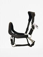 Lemieux anatomique ergonomique Rembourré Cuir Licou Laiton Noir//Marron Cob//Full