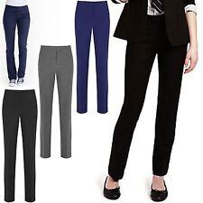 Filles Pantalon Coupe Slim Jambe Kids School Uniform Pantalon Pull Haut Pantalon 3-16 Ans