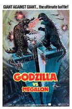 Posters USA - Godzilla Vs. Megalon 1973 Movie Poster Glossy Finish - MCP302
