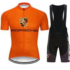 Mens Cycling Jersey Bib Short Kit Bicycle Bike Motocross MTB Shirt Team Clothing