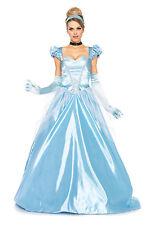 Sexy Halloween Adult Leg Avenue Classic Cinderella Long Gown Princess Costume