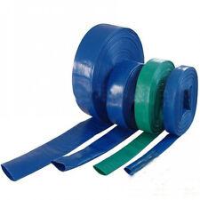 Flexibler PVC Wasser Flachschlauch 1 Zoll bis 2 Zoll 10-50m Gartenschlauch TOP