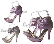 SANDALI DONNA con tallone plateau tacco altissimo scarpe donna made in italy