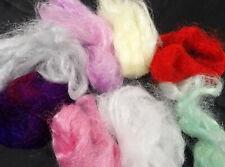 Hand Dyed Trilobal Nylon Sparkle Effects Fibre 25g Mix Pk Felt Spin Weave Vegan