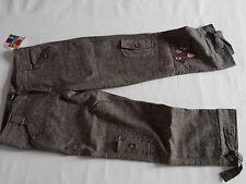 DESIGUAL tolle 3/4 Woll Stiefelhose mit Stickerei PIRA KEATS Gr.34 NEU