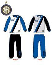 Pigiama lungo Bimbo Fc Internazionale maglia e pantaloni lunghi *21134