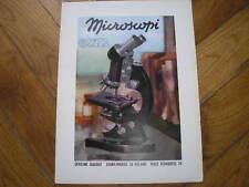 MICROSCOPI OFFICINE GALILEO 1941