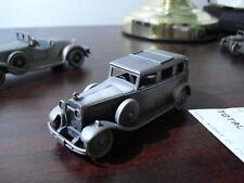 Danbury Mint Pewter 1929 Hispano Suiza Car Look
