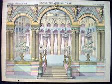 Pellerin Imagerie D'Epinal-Grand Theatre Nouveau No 1628 Palace Inv1748