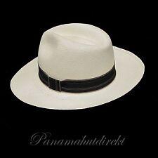 "Genuine Panama Hat from Montecristi ""Clásico"" Subfino Men Woman Straw Fedora Hut"