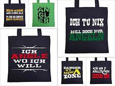 Angler Sprüche Tasche - Anglzubehör Angeltasche - Geschenk Angler Geschenktasche