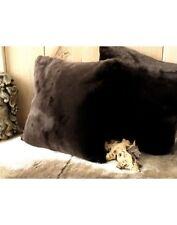 Bison Faux Fur Cushion