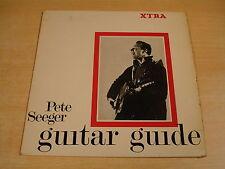 PETE SEEGER - GUITAR GUIDE / FOLK LP