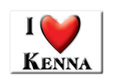 SOUVENIR USA - NEW MEXICO FRIDGE MAGNET I LOVE KENNA (ROOSEVELT COUNTY)