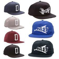 OBEY Cappello SNAPBACK Cap ORIGINALE New HAT Berretto REGOLABILE Vari Mod. ERA