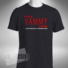 La IT una cosa Yammy MEN'S T-SHIRT SUPERBIKE Motocicletta Bici FAZER YAMAHA FZ MOTO