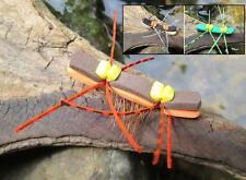 GILCHRIST FLIEGEN. Tschernobyl Ameise. 3 Stück von einer Farbe & Größe
