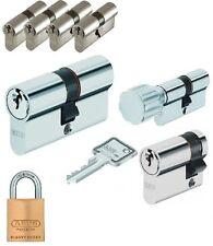 4er Set Abus Security Profilzylinder Schließzylinder Gleichschließend