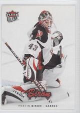2006-07 Fleer Ultra #26 Martin Biron Buffalo Sabres Hockey Card