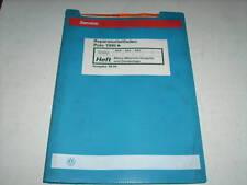 Werkstatthandbuch VW Polo 6N Mono Motronic Einspritzanlage ab 1995