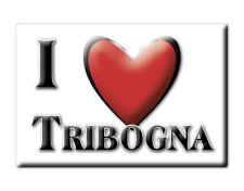 CALAMITA LIGURIA ITALIA FRIDGE MAGNET MAGNETE SOUVENIR I LOVE TRIBOGNA (GE)