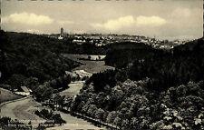 Lüdenscheid Postkarte ~1950/60 Blick vom langen Nacken zur Oberstadt Panorama