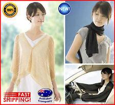 scalf sleeve coat, UV sun arm protection for beach, cars, ladys fashion light