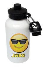 Emoji - Shades - Personalised Kids/Drinks/Sports Childrens Water Bottle