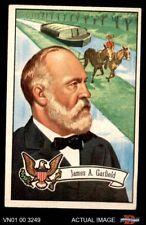 1956 Topps U.S. Presidents #23 James A. Garfield VG