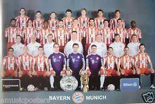 "BAYERN MUNICH ""2010-2011 TEAM SHOT"" POSTER-FOOTBALL FC"