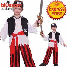 CK1221 Pirate Buccaneer Boys Sparrow Book Week Find Treasure Caribbean Costume