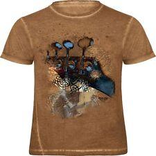 (12963) Trendiges Designer T-Shirt ☆ mystical bass ☆ ROCK YOU© MUSIC SHIRT S-XXL