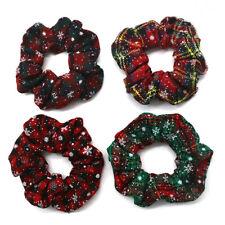 New Fashion Christmas Elastic Hair Ring Scrunchie Ponytail Holder Hair Ties H17