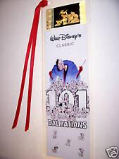 101 DALMATIONS DISNEY CLASSIC Film Cell Bookmark