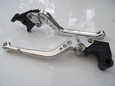 Triumph TT600 (2000-2003), CNC levers set long silver/chrome adjusters, F14/T955