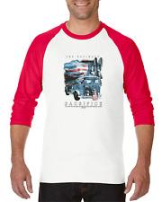 Gildan Raglan T-shirt 3/4 Sleeve Christian Firefighter Jesus Ultimate Sacrifice