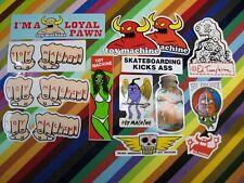 vtg 1990s Toy Machine skateboards sticker - Ed Templeton art Turtle girl