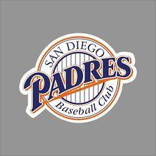 San Diego Padres #10 MLB Team Logo Vinyl Decal Sticker Car Window Wall Cornhole