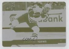 2017 Upper Deck Printing Plate Yellow #41 Jonathan Toews Chicago Blackhawks Card