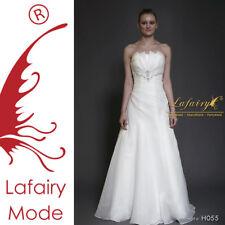 Lafairy Brautkleid H055 Sofort Gr.34/36/38/40 Ivory
