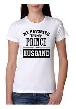 Ladies MY FAVORITE DISNEY PRINCE IS MY HUSBAND Tshirt