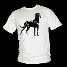 GREAT DANE Gigante cane & animali icona originale uomo stupenda cane T-shirt