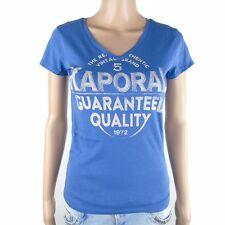 Tee shirt Kaporal Femme manches courtes PALME Bleu